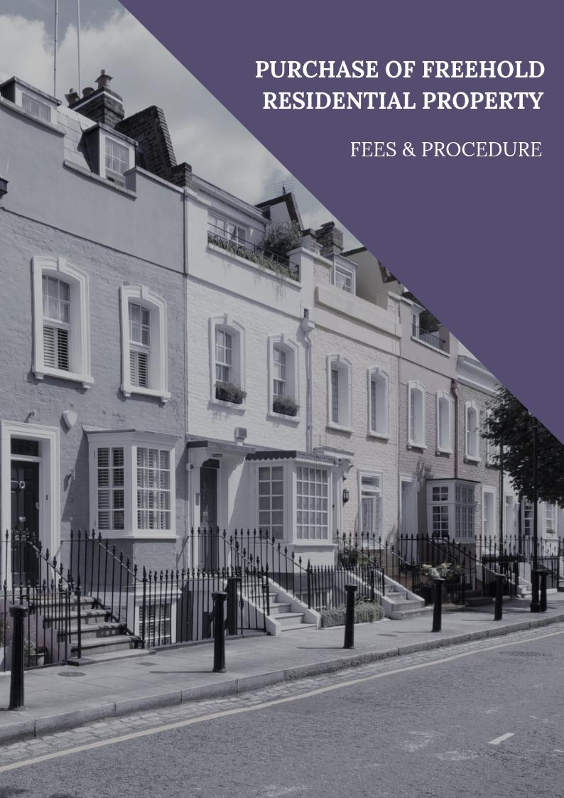 conveyancing solicitors london